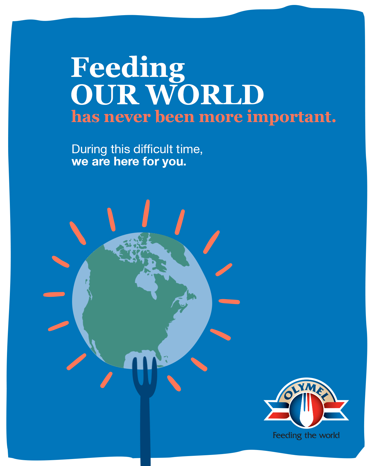 Feeding our world has never been more important