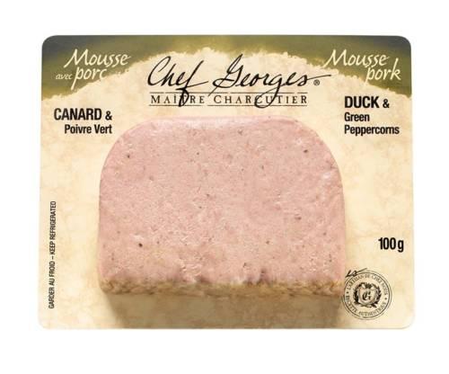 Mousse Porc Canard Poivre Vert Chef Georges