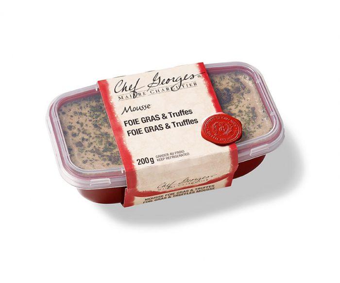 Mousse foie gras et truffes