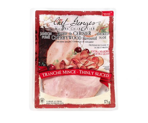 Smoked, cherry-flavoured ham