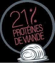 Jambon 21% de protéines